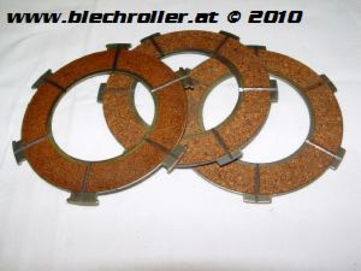 Kupplungsbeläge PX 80-150/GTR/GT/Sprint/ Sprint Veloce/TS/T4/GL/VNA-VBB