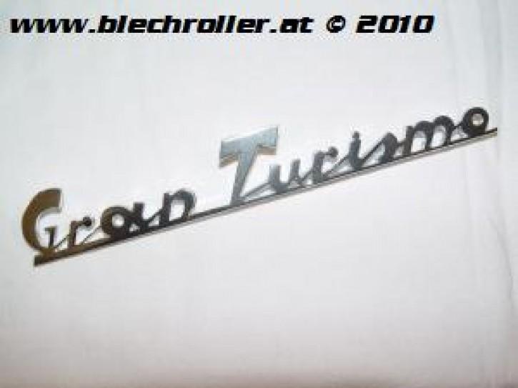"Schriftzug ""Gran Turismo"" chrom, Heck/schräg"