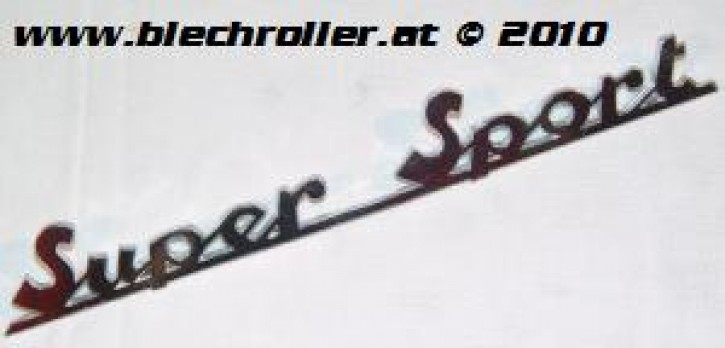 "Schriftzug ""Super Sport"", Heck/schräg für 180 SS"
