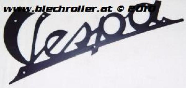 "Schriftzug ""Vespa"", schwarz, 125 VN1T 01950> VN2T, Beinschild"
