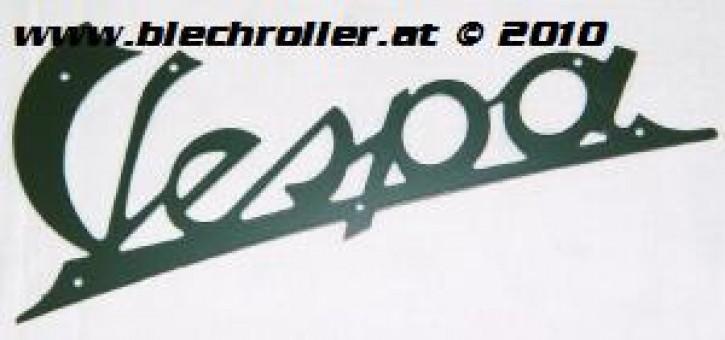 """Schriftzug """"Vespa"""", dunkelgrün 125 VN1T 01950> VN2T, Beinschild"""