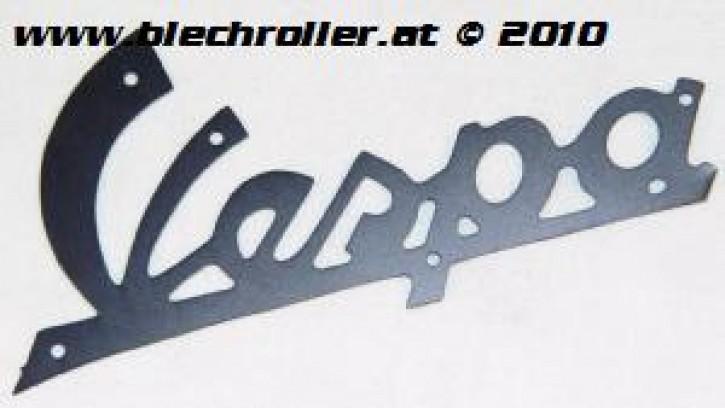 """Schriftzug """"Vespa"""" 125 ´59/´60 Beinschild, schwarz - klein"""