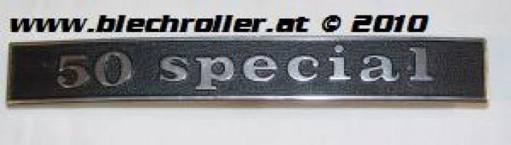 """Schriftzug """"50 special"""", Heck"""