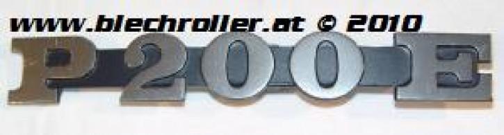 """Schriftzug """"P200E"""", Seitenhaube"""