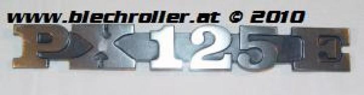 """Schriftzug """"PX125E"""", Seitenhaube"""