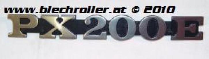 """Schriftzug """"PX200E"""", Seitenhaube"""