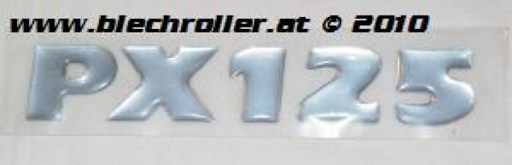 """Schriftzug """"PX125"""" Milenium, Seitenhaube"""