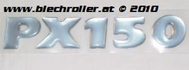 """Schriftzug """"PX150"""" Millenium, Seitenhaube"""