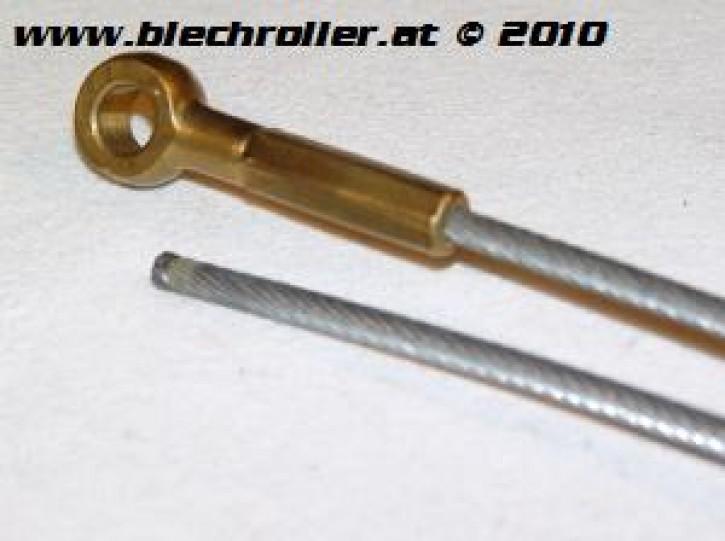 Seilzug Bremse hinten, mit Auge, ohne Hülle, für PE/PX/V50/90/PV/ET3/PK