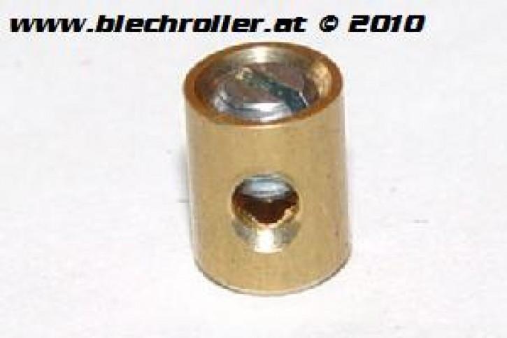 Schraubnippel für Gas-Seilzug bis Ø=1.9mm