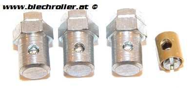 Schraubnippelkit für Vespa V50-125/PV/ET3/PK/P80-150X/PX/125 VNA-TS/150 VBA-Super/160 GS/180 SS/Rally/ 125 V1-15/V30-33/VM/VN/150 VL/VB1/Hoffmann/ACMA