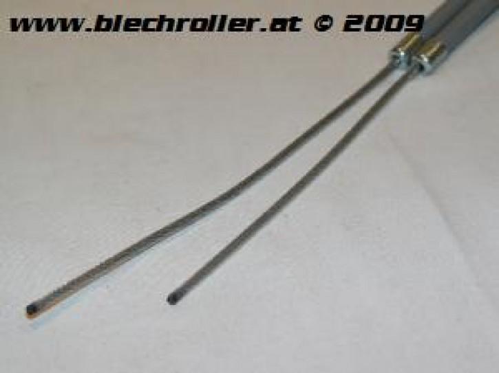 Seilzug Bremse hinten, mit Hülle, ohne Auge für V50/PV /Sprint/Rally /VNA-TS/150 VBA-Super/160 GS