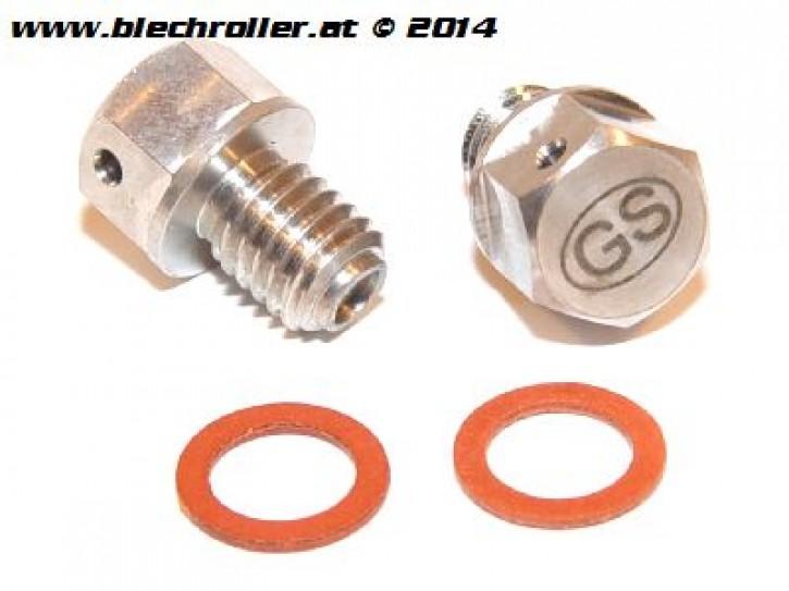 Öleinlass/Ölablass Schrauben-Kit M8x8 mm - GRAND-SPORT