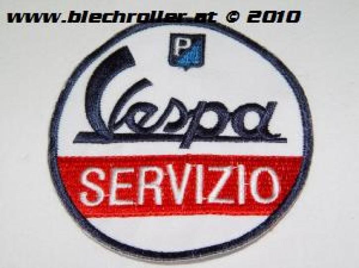 """Aufnäher """"Vespa Servizio"""