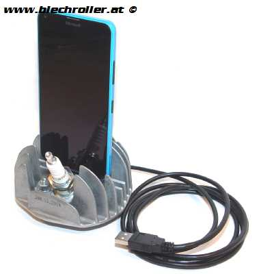 "Ladestation Dockingstation ""Vespa Zylinderkopf"" für Samsung /HTC/LG uvm."