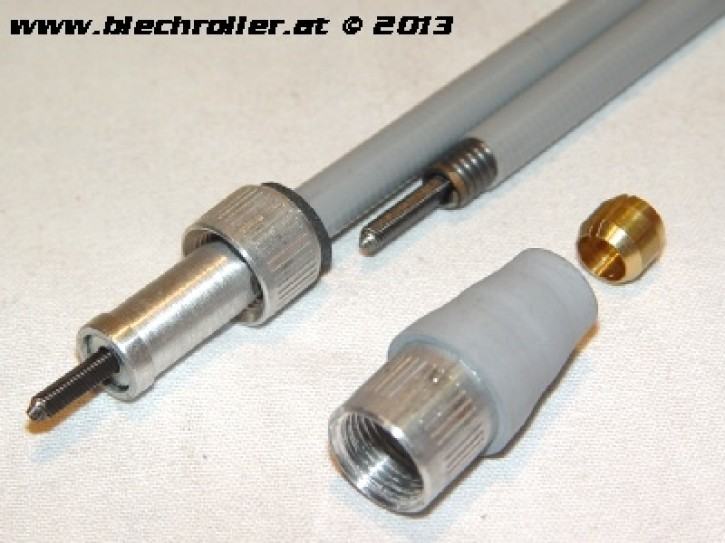 Tachowelle PASCOLI  für Vespa 125 VNB5 033017>VNB6/150 VBB2T 216001> - geschraubt/geschraubt