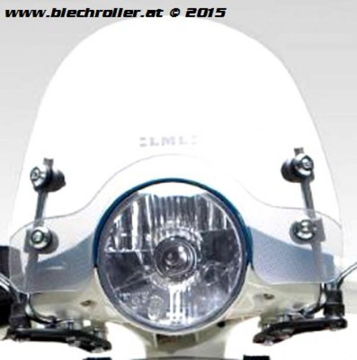 Windschild LML für alle LML Star und Vespa PX80-200/ PE/Lusso`98/ MY/`11