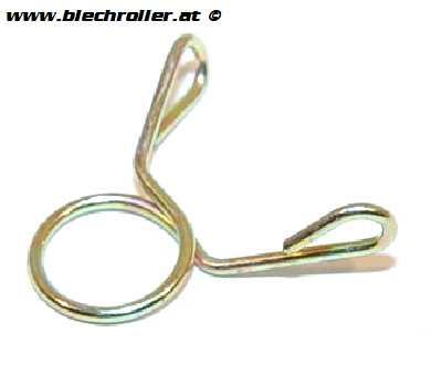 Schlauchklemme 8mm für Verbinder Öltank/Ölpumpenschlauch für KSR MOTO TR 50 Serie, Generic Tigger 50 Serie und baugleiche Bikes
