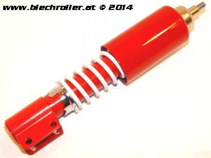 Stoßdämpfer vorne BGM PRO verstellbar für Vespa P80-150X /P200E /PX80-200E /Lusso/T5 - Rot/Weiß