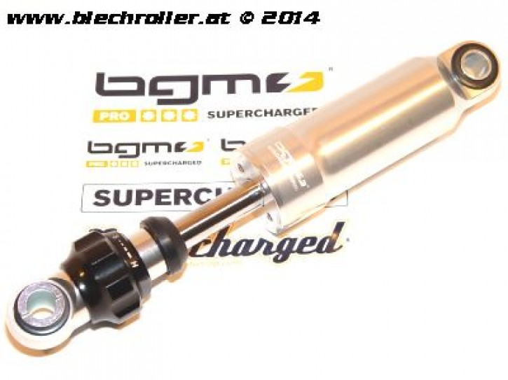 Stoßdämpfer vorne BGM PRO F16 für Vespa LageFrame (siehe Details) - Silber