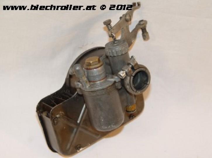Vergaser original Dellorto TA18D 125 V30-V33/VM/VN 150 VL1 /ACMA mit Luftfilterkasten - Gebraucht -