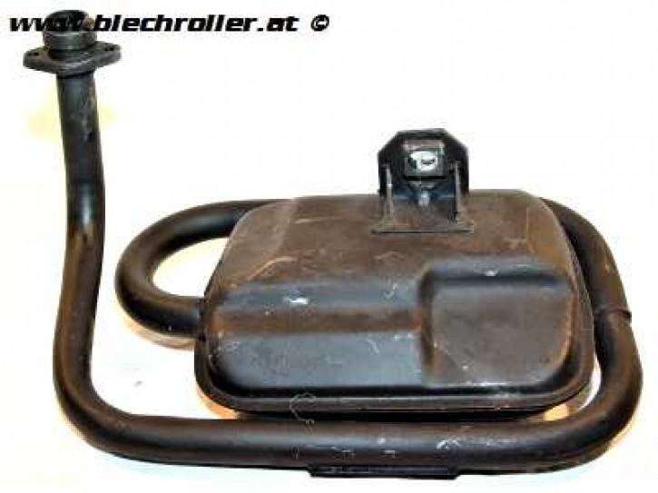 Auspuff 4 Takt Handschaltung 125/ 150 LML Star Deluxe - Gebraucht -