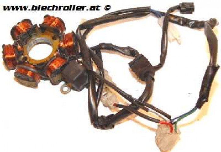 Zündung inkl. Pickup für LML Star Deluxe/Lite 125 CVT Automatik - neuwertig