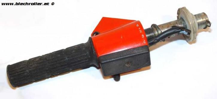 Schaltrohr PE/PX rot O-Lack - gebraucht