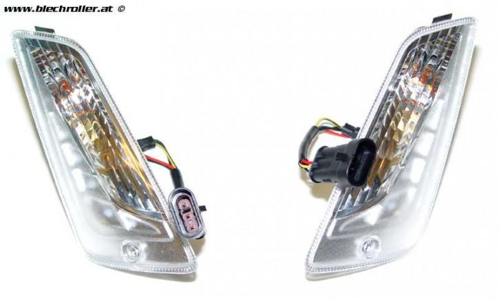 Blinker Paar PIAGGIO vorne, links und rechts für Vespa GTS/GTS Super 125-300ccm '14- - Gebraucht/Neuwertig -