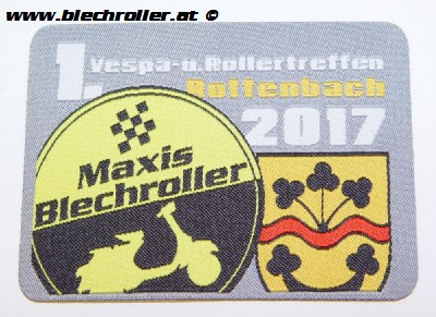 Aufnäher 1. Vespa-u.Rollertreffen Rottenbach 2017