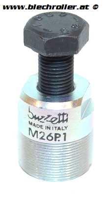 Polradabzieher M26x1 für BAJAJ E-Zündung 12V und GILERA/PIAGGIO 50ccm 2T/4T