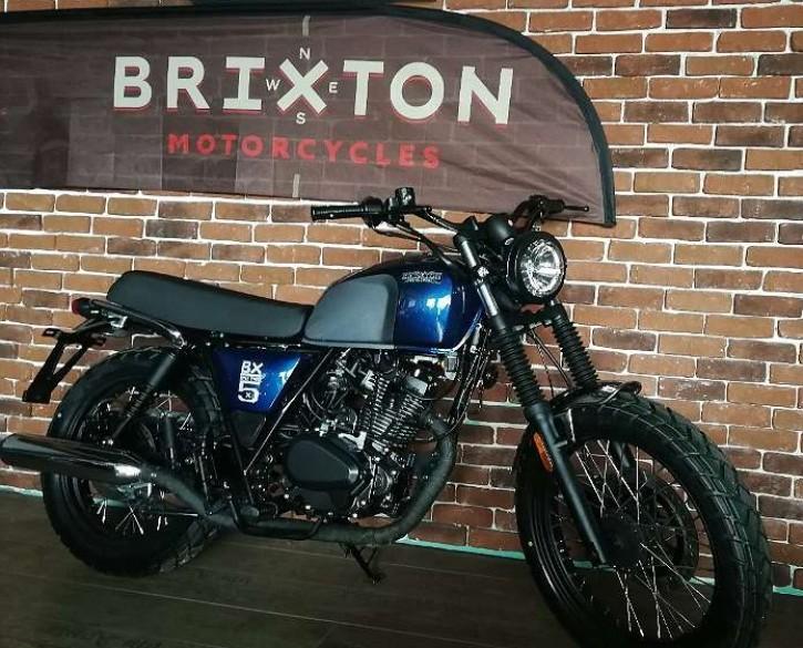 Brixton BX 125, Neufahrzeug Blau