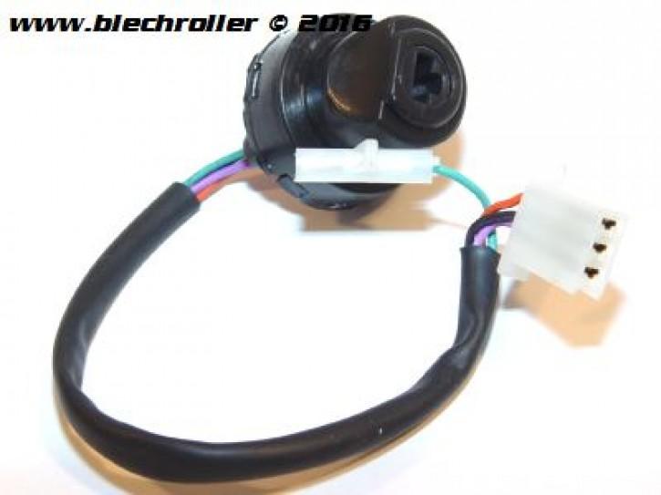 Zündungschalter/Stecker Zündschloss LML Star 2- und 4-Takt Handschaltung - mit E-Start