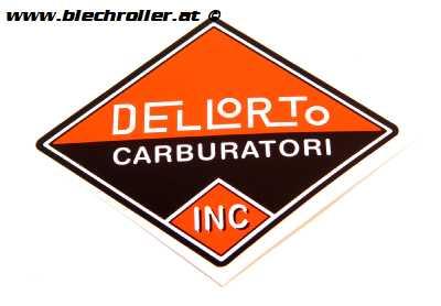 Aufkleber DELLORTO Altes Logo