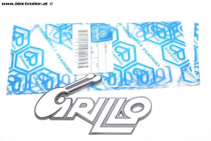 """Seiten schriftzug Piaggio """"Grillo"""", Nr. 256395 - Restposten"""
