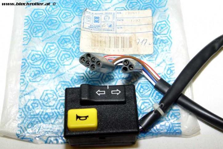 Blinker Schalter Hupe PIAGGIO VESPA PK 50 XL II / Automatik NOS Nr. 290413 - Restposten