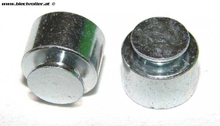 2 Stk. Metallteile/Gewichte PIAGGIO, Nr. 64611 - Restposten