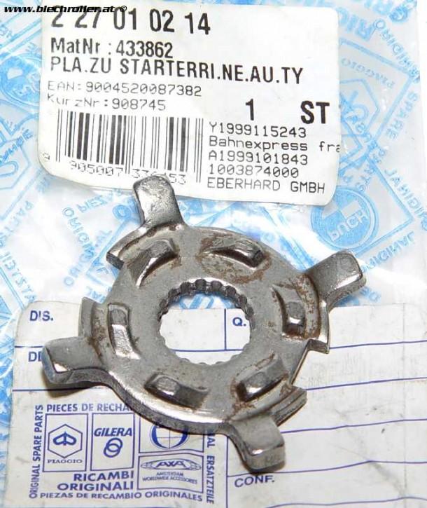 Mitnehmer Riemenscheibe 4 mm für Vespa ET2 50ccm, 2T, AC, (-'98) passt auch für PIAGGIO 50ccm 2T AC/LC (-'98) - 433862 - Restposten