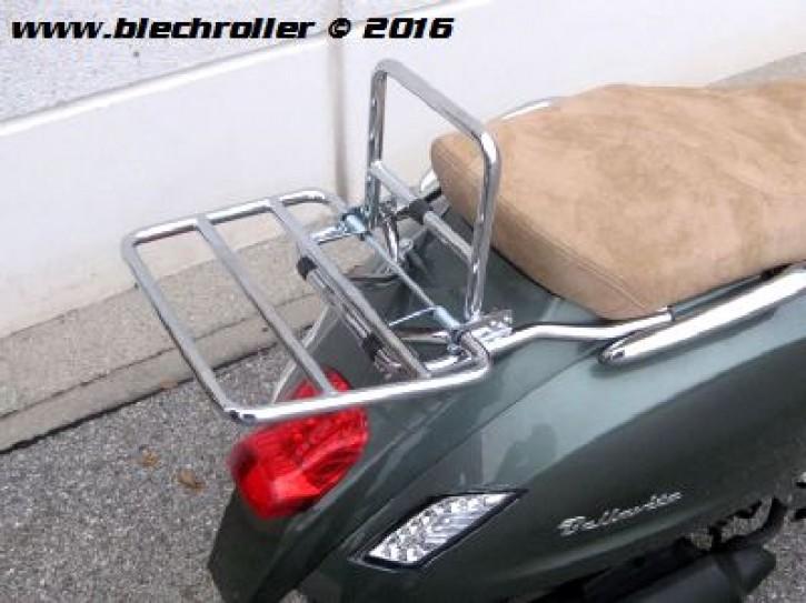 Gepäckträger Chrom für TGB Bellavita 125/300