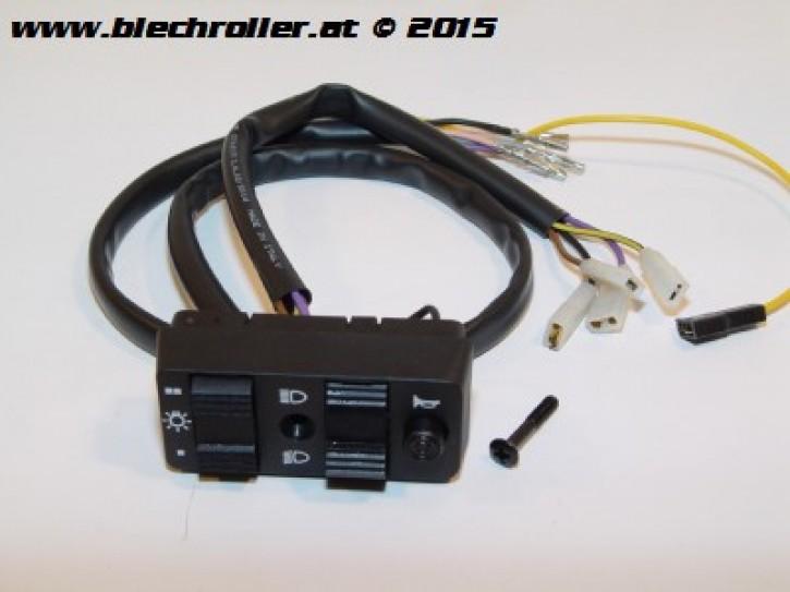 Lichtschalter für Vespa PX80-200E/Lusso/`98/MY /PK 50-125 XL/ETS, mit E-Start  - Gebraucht -