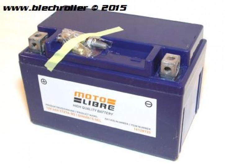 Batterie 12V/7Ah - vorgeladen/betriebsbereit