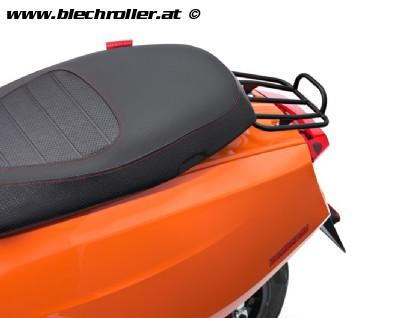 Gepäckträger hinten klein schwarz für Lambretta V-Serie