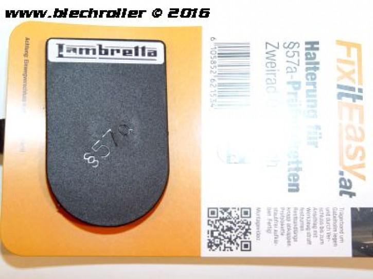 """FixitEasy §57a (Pickerl) Prüfplakettehalter """"Lambretta"""
