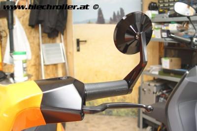 Lenkerendenspiegel MONTANA inkl. Montagemateriel rechts oder links für Lambretta V125/200 Serie
