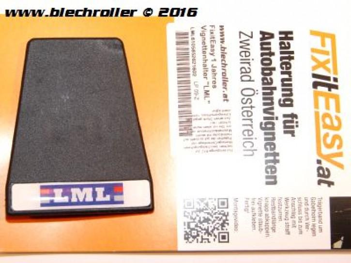 "FixitEasy 1 Jahres Vignettenhalter ""LML"