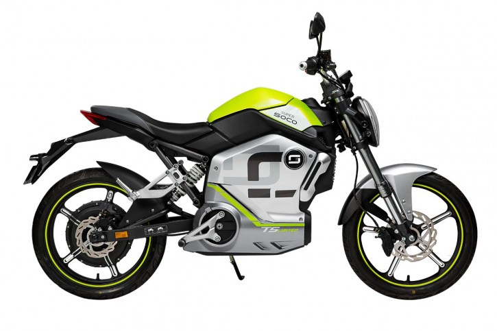 Super SOCO TS1200R, Elektro-Moped - Limited Edition