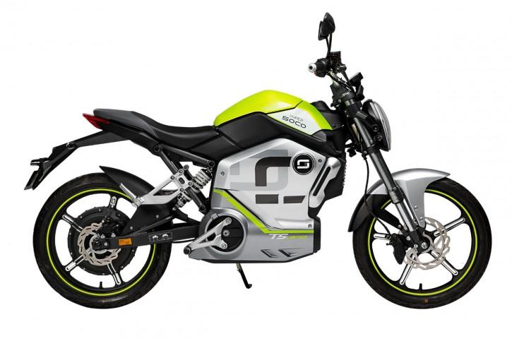 Super SOCO TS1200R, Elektro-Moped - Neufahrzeug