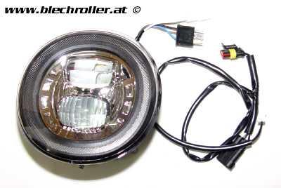 Scheinwerfer MOTO NOSTRA LED HighPower für Vespa GT/GTS/GTL/GTS 125-300