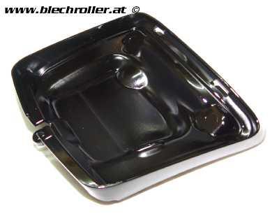 Rücklichtrahmen zur Umrüstung MOTO NOSTRA für Montage neuer Rücklichttyp ab Bj.2014 auf Fahrzeugen bis Bj.2014 für Vespa GT/GTL /GTS 125-300 - Schwarz