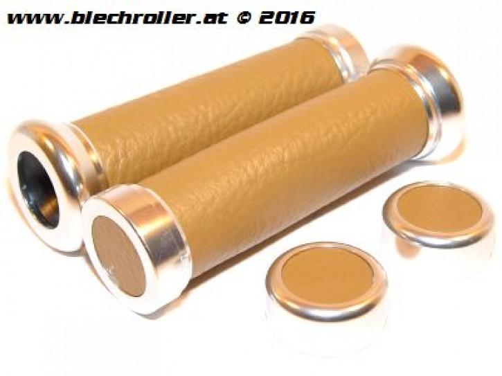 Griffe für Vespa ET2/ET4/LX/LXV/S/Primavera/Sprint 50-150ccm - Kunstleder - Beige